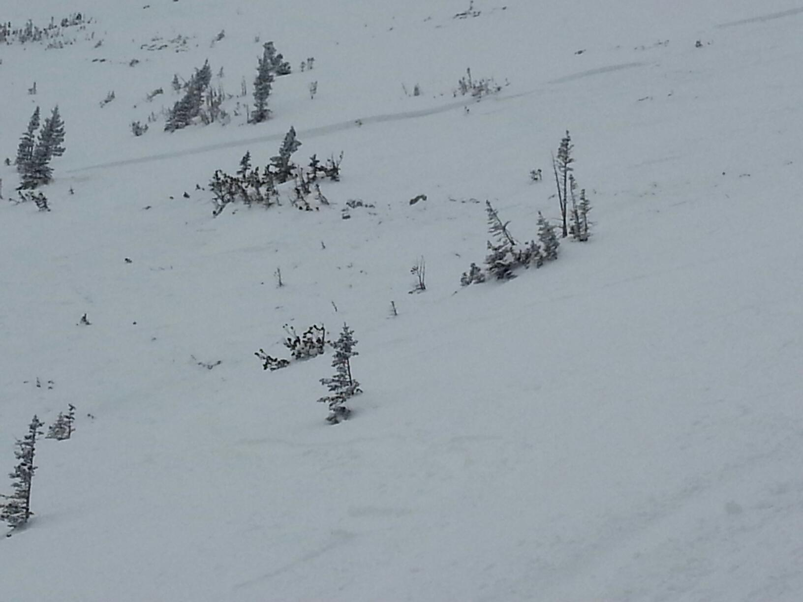 Football field avalanche 1-2016